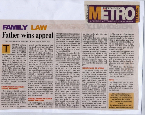 father wins appeal